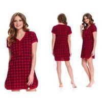 Koszula nocna HERMA: czerwony