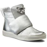 Sneakersy CARINII - B3522 Venus Lustro Srebro/Dave Met 6729/0101, kolor szary