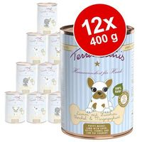 Terra canis karma dla szczeniąt, 12 x 400 g - 2 smaki (4260109620691)