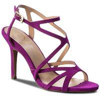 Sandały BALDOWSKI - D01598-3436-026 Zamsz Fuxia, kolor fioletowy