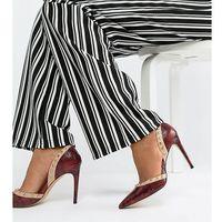 Carvela Pointed High Heels - Red, kolor czerwony