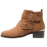 New Look Wide Fit WIDE FIT BUCKROGERS Ankle boot tan, ankle