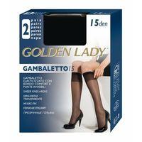 gambaletto 15 den a'2 2-pack podkolanówki marki Golden lady