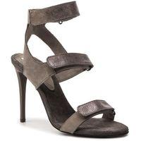 Sandały CARINII - B3889/F 399-000-000-C19, kolor szary