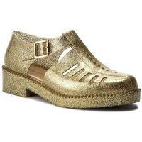 Półbuty MELISSA - Aranha 79 16 Ad 31902 Glass Silver Glitter 03586, kolor żółty