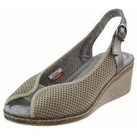 Sandały 2341 beżowe + perła marki Axel
