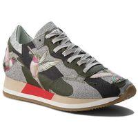 Sneakersy PHILIPPE MODEL - Etoile TBLD BG01 Tropical Birds Vert, kolor wielokolorowy