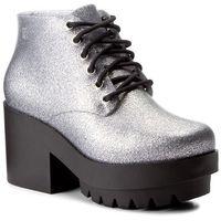 Botki - stellar ad 31619 silver glitter 52984 marki Melissa