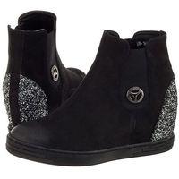 Sneakersy czarne 1853/003-p (ch17-a) marki Chebello