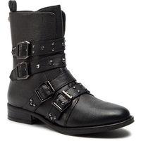 Botki STEVE MADDEN - Ivy Ankelboot SM11000074 Black Leather, w 6 rozmiarach