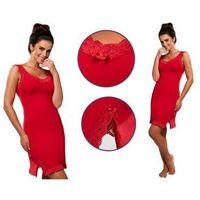 Cornette Koszula nocna fiona: czerwień