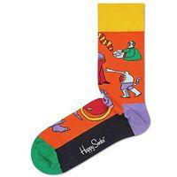 Happy Socks Monsters Skarpetki Pomarańczowy 36-40, kolor pomarańczowy