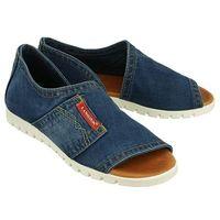 LANQIER 40C235 jeans, sandały damskie