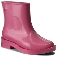 Kalosze - rain drop boot ad 32185 pink 01369 marki Melissa