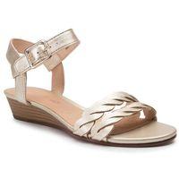 Sandały CLARKS - Mena Blossom 261392534 Champagne