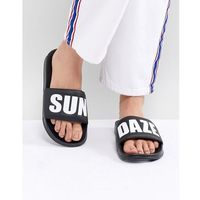 slogan slider - black marki Monki