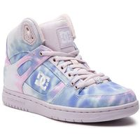 Sneakersy DC - Pure High-Top Tx Se ADJS100115 Blue/Pink (Blp)