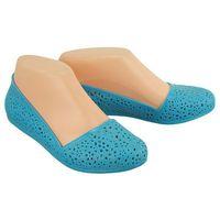 7kl1547 niebieski, baleriny, buty do wody damskie - niebieski marki Axim