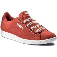 Sneakersy PUMA - Vikky Ribbon Bold 365312 02 Spiced Coral/Spiced Coral, kolor czerwony
