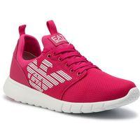 Sneakersy - x8x007 xcc02 00056 bright rose/white training marki Ea7 emporio armani