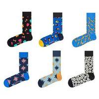 Happy socks Skarpety 6-pack sixmix