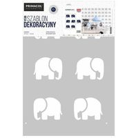 Primacol Szablon mega elephants 62 x 91 cm nr 527 (5906725252067)