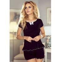 Eldar piżama damska barbara czarny, ELDPDBAR#CZA#M