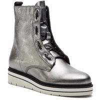 Botki TOMMY HILFIGER - Sporty Feminine Boot FW0FW03985 Light Silver 016, w 5 rozmiarach