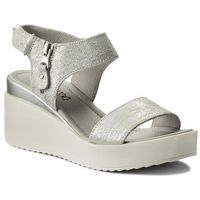 Sandały - 2111-01 biały srebrny marki Lasocki