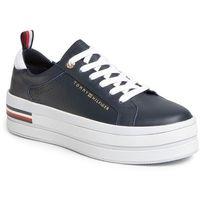 Sneakersy TOMMY HILFIGER - Modern Flatform Sneaker FW0FW04851 Desert Sky DW5, w 5 rozmiarach