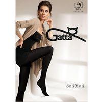 Rajstopy Gatta Satti Matti 120 den 4-L, czarny/nero, Gatta, kolor czarny