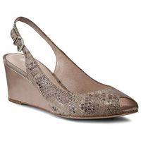Sandały - aurelia dng372-q36-jf00-1400-0 beżowy 12 marki Gino rossi
