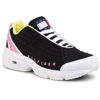 Sneakersy TOMMY JEANS - Heritage Tommy Jeans Sneaker EN0EN00861 Black BDS, kolor czarny