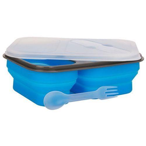 Lunch box mpm sls-1 silikonowy 300 ml i 600 ml niebieski + zamów z dostawą jutro! marki Smile