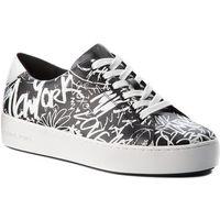Sneakersy MICHAEL MICHAEL KORS - Poppy Lace Up 43T8POFS1W Blk/Wht, 1 rozmiar
