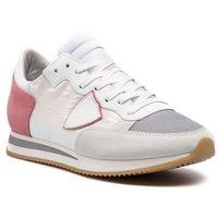 Sneakersy PHILIPPE MODEL - Tropez TRLD WO07 Blanc Rose, w 4 rozmiarach