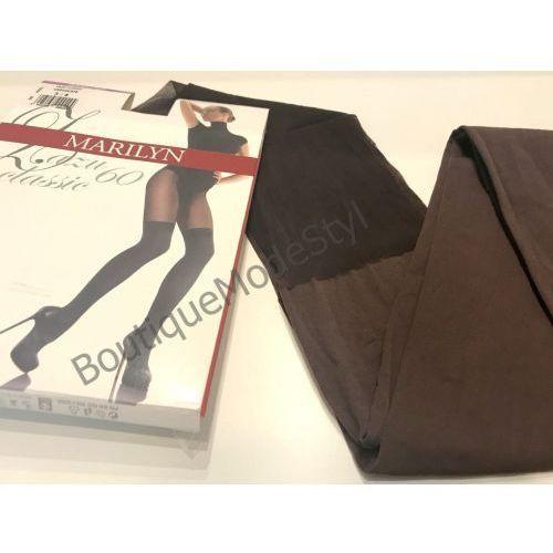 Rajstopy Marilyn Zazu Classic 60den chocolate