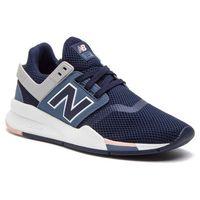 Sneakersy NEW BALANCE - WS247TRF Granatowy, kolor niebieski