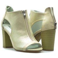 Sandały Jezzi SA37-10 Złote lico