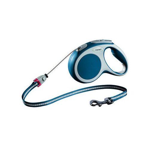 smycz automatyczna vario kolor: niebieski 5m - do 12kg marki Flexi