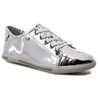 Sneakersy - amelia 28571-11-12 srebrny marki Kazar