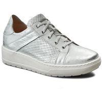 Sneakersy EKSBUT - 27-4374-369/C77-1G Srebro Lico
