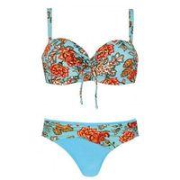 Kostium kąpielowy damski dwuczęściowy s730ac19 11b błękitny marki Self