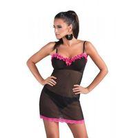 Koszulka roxana czarna + stringi brazyliany gratis! marki Donna