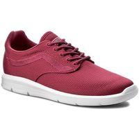 Sneakersy - iso 1.5 vn0a2z5sn70 (mesh) sangria marki Vans