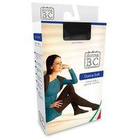 Rajstopy Donna B.C Soft Akryl S-XL ROZMIAR: 3-L, KOLOR: szary/fumo, Donna B.C., kolor szary