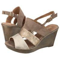 Sandały Sergio Leone Beżowe/Złote 39226 (SL174-a), 39226 Beż
