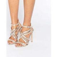 fox metallic heeled sandals - multi marki Miss kg