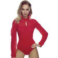 Alex body damskie Eldar Romantica Top Czerwone - Czerwony