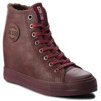 Sneakersy - bb274303 burgund marki Big star
